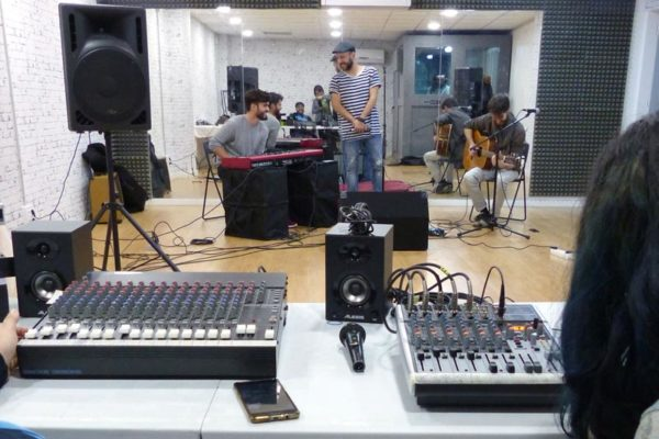 Cursos de sonido en Madrid